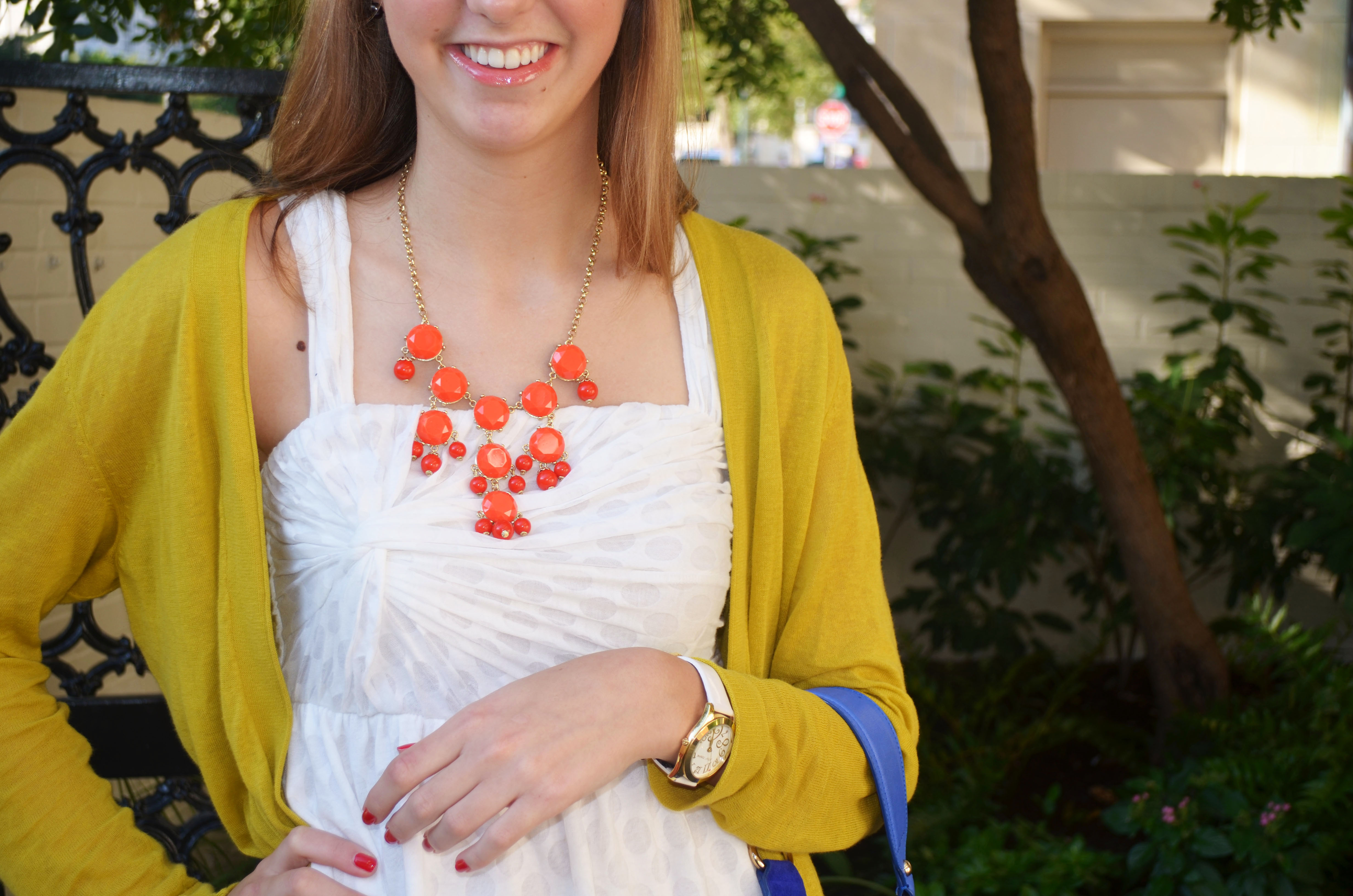 BaubleBar necklace | Living with Grace