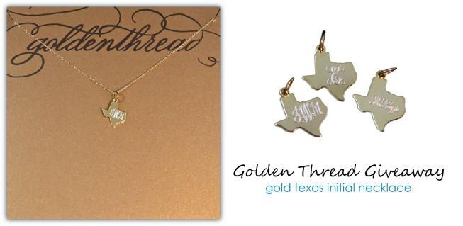 golden thread giveaway