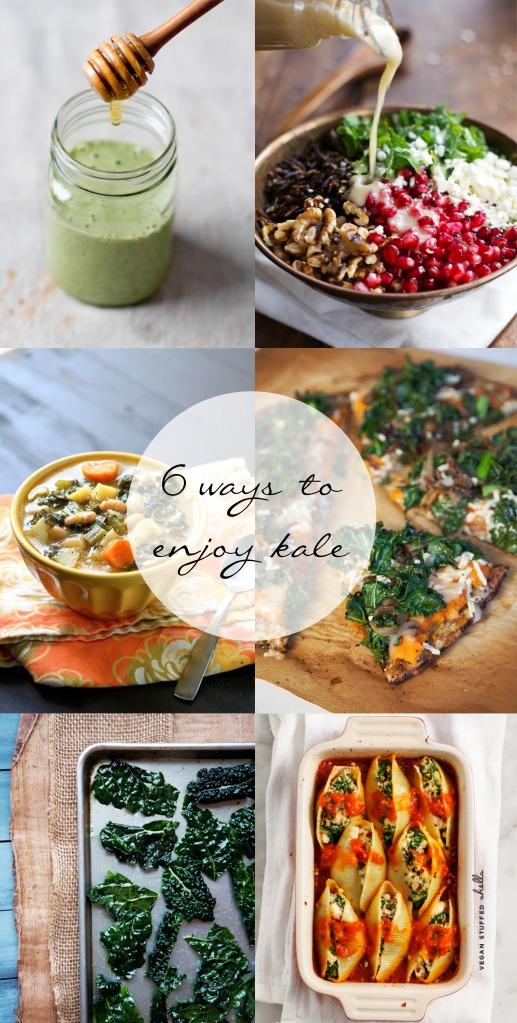 kale 6 ways